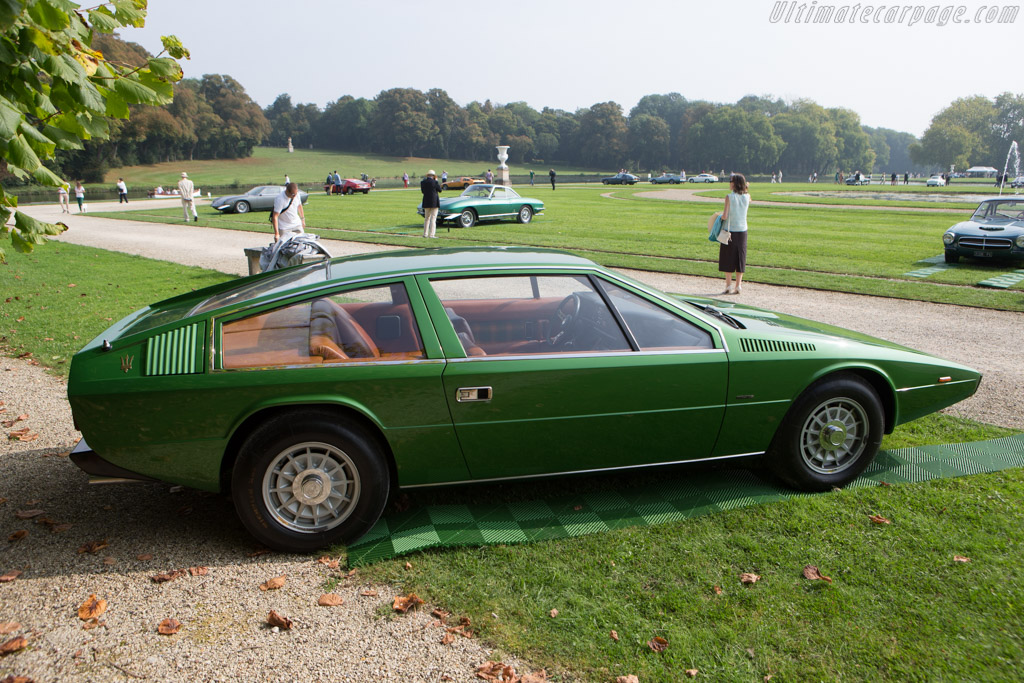 Maserati Tipo 124 Coupe  - Entrant: Panini Collection - 2014 Chantilly Arts & Elegance