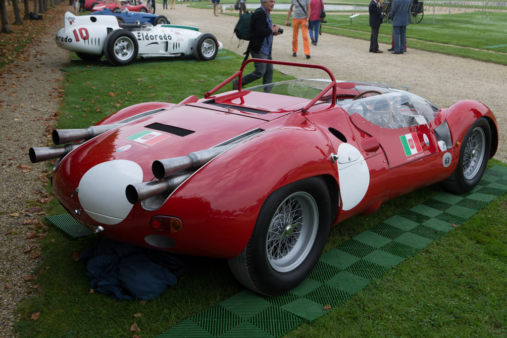 Maserati Tipo 63 Birdcage V12 - Chassis: 63.008 - Entrant: Panini Collection  - 2014 Chantilly Arts & Elegance