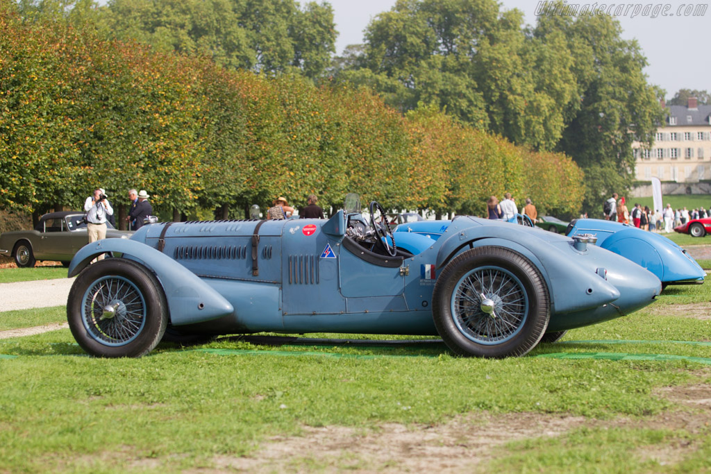 Talbot Lago T150C SS Competition - Chassis: 82930 - Entrant: Hervé and Martine Ogliastro  - 2014 Chantilly Arts & Elegance