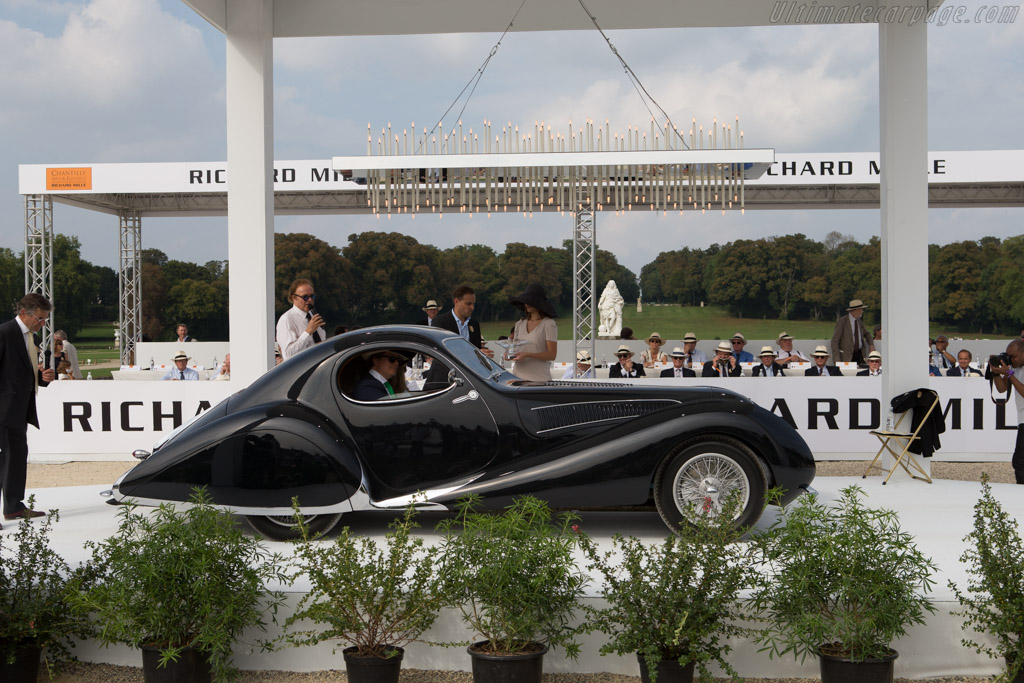 Talbot Lago T150C SS Figoni & Falaschi Coupe - Chassis: 90123 - Entrant: d'Ieteren Gallery  - 2014 Chantilly Arts & Elegance