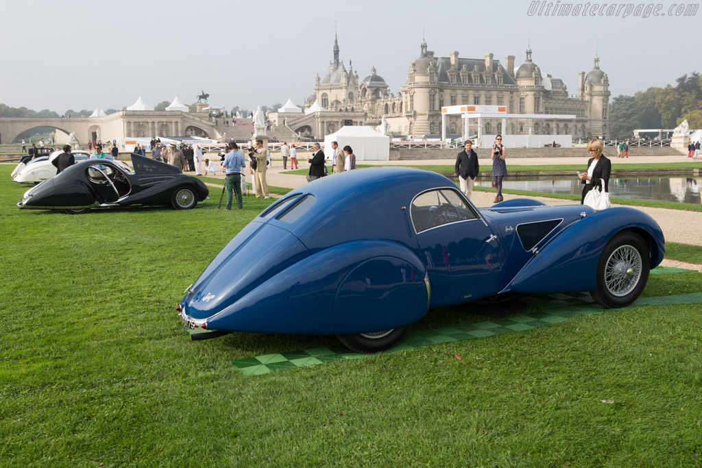 Talbot Lago T150C SS Pourtout Coupe - Chassis: 90120 - Entrant: The Hon. Sir Michael Kadoorie  - 2014 Chantilly Arts & Elegance