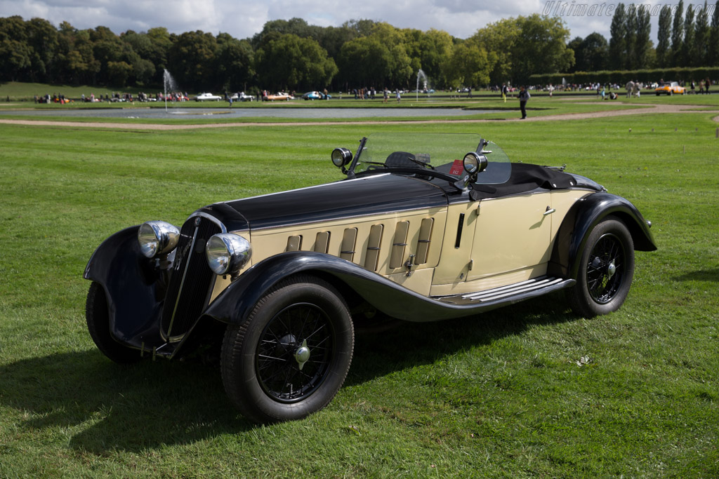 Alfa Romeo 6C 1750 GS Touring Spider - Chassis: 10814326 - Entrant: Wolfgang Muenster  - 2015 Chantilly Arts & Elegance