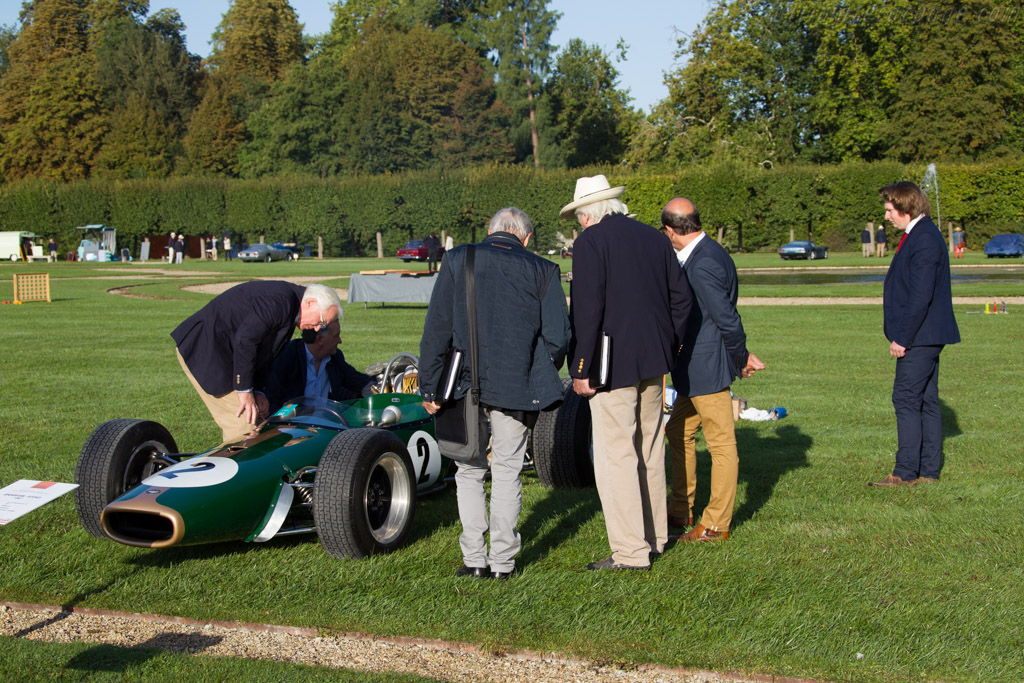 Brabham BT24 Repco - Chassis: BT24-2 - Entrant: Private Collection  - 2015 Chantilly Arts & Elegance