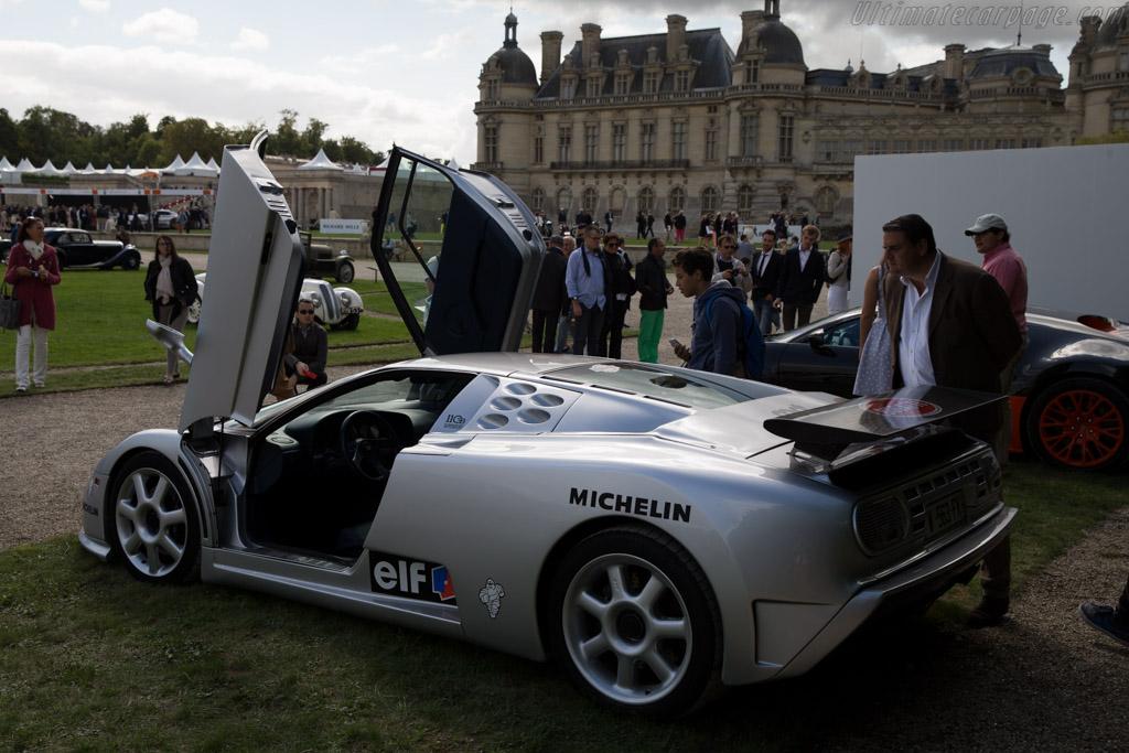 Bugatti EB 110 SS - Chassis: ZA9BB02E0RCD39017 - Entrant: Bugatti  - 2015 Chantilly Arts & Elegance