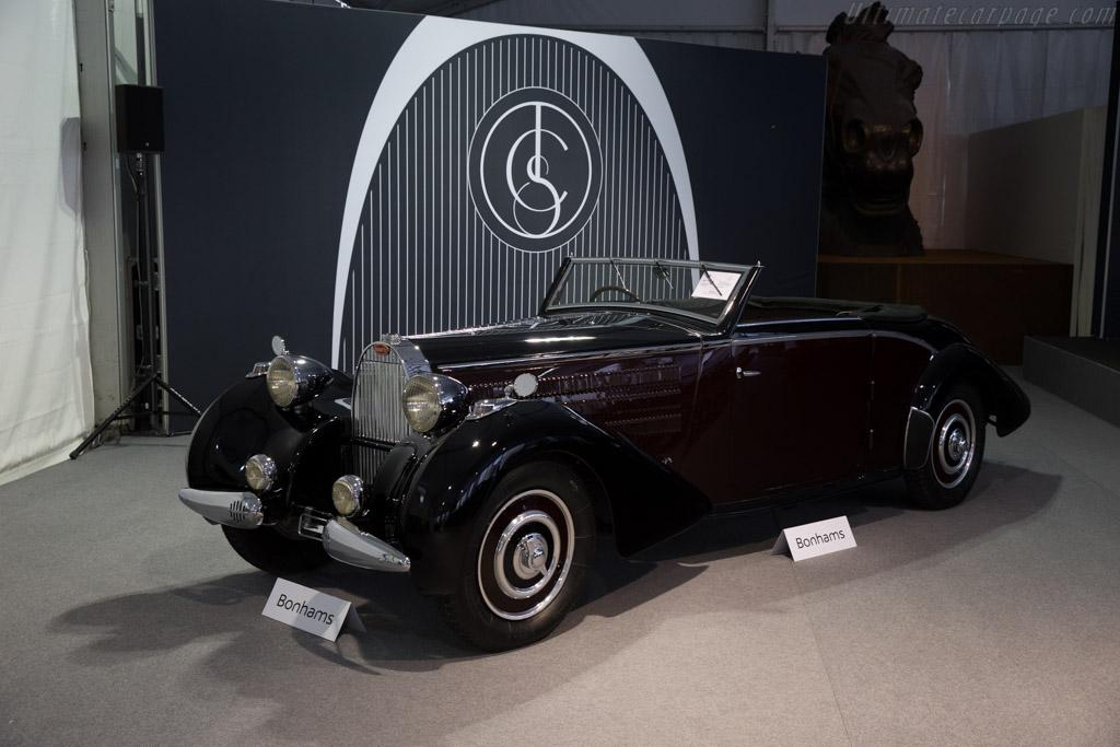 Bugatti Type 57 d'Ieteren Cabriolet - Chassis: 57589   - 2015 Chantilly Arts & Elegance