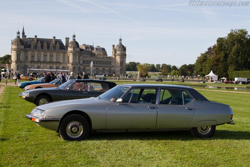 Citroën SM Opera  - Entrant: Pierre Verpaux  - 2015 Chantilly Arts & Elegance