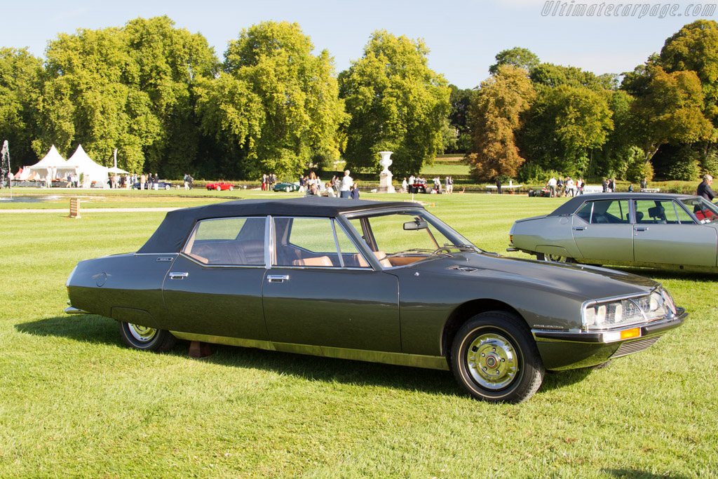 Citroën SM Presidentielle  - Entrant: French Presidency  - 2015 Chantilly Arts & Elegance