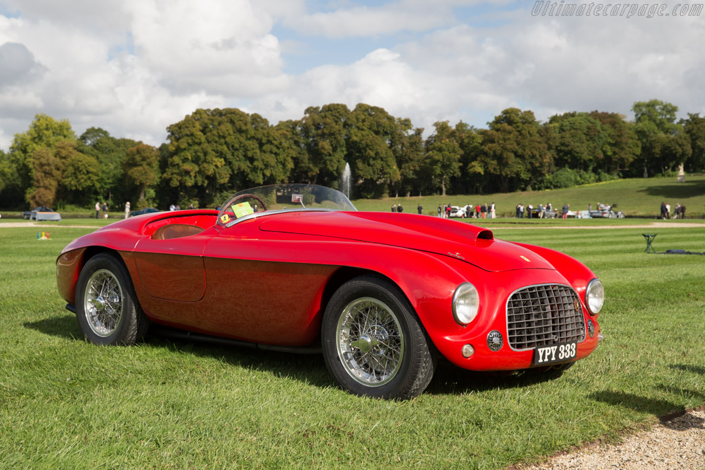 Ferrari 166 MM Touring Barchetta - Chassis: 0040M - Entrant: Sally & Dudley Mason-Styrron  - 2015 Chantilly Arts & Elegance