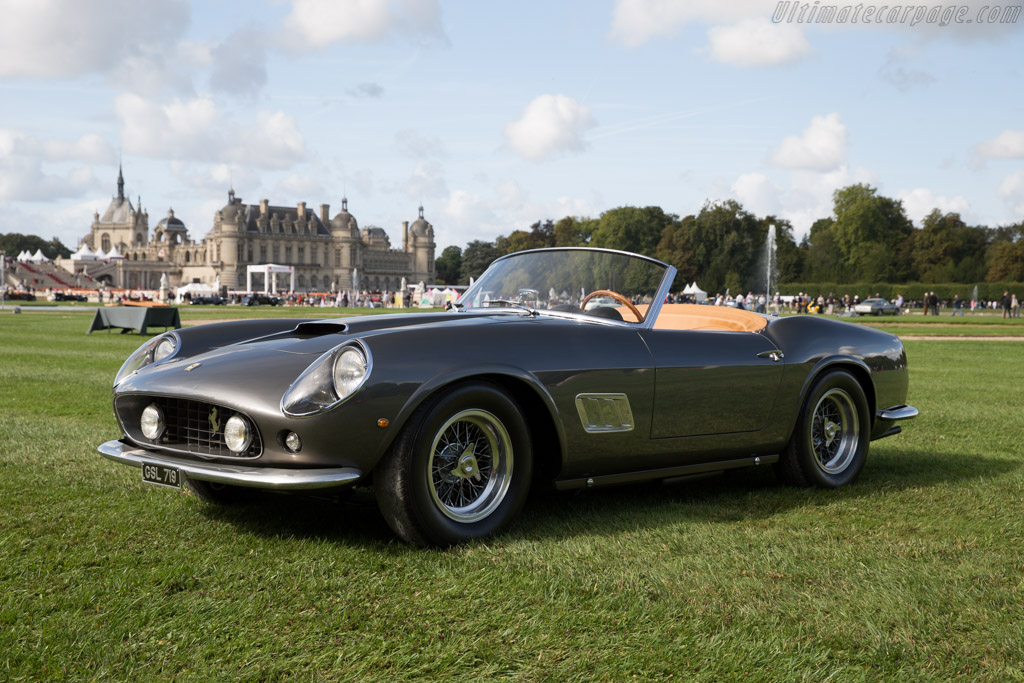 Ferrari 250 GT SWB California Spider - Chassis: 2383GT - Entrant: Brandon Wang  - 2015 Chantilly Arts & Elegance