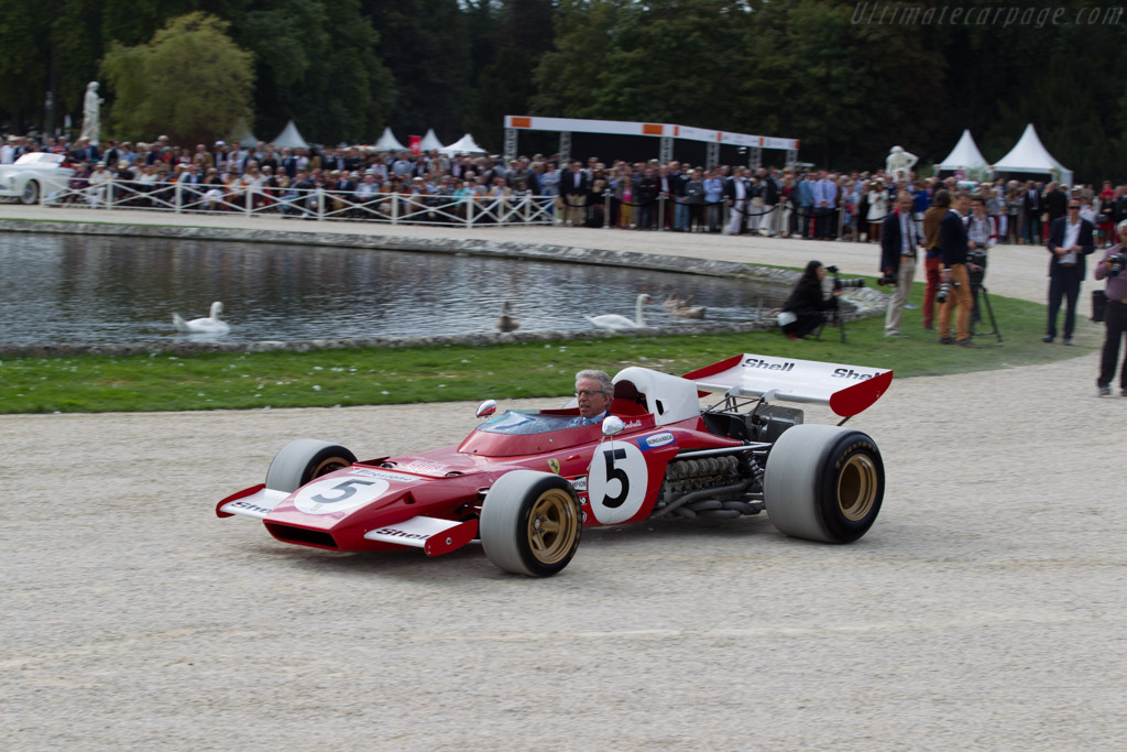 Ferrari 312 B2 - Chassis: 007 - Entrant: Francesco & Julia de Baldanza  - 2015 Chantilly Arts & Elegance