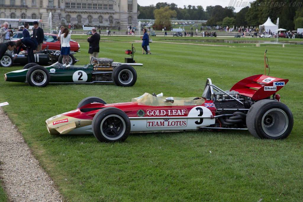 Lotus 49B Cosworth - Chassis: R6 - Entrant: Donington Grand Prix Collection  - 2015 Chantilly Arts & Elegance