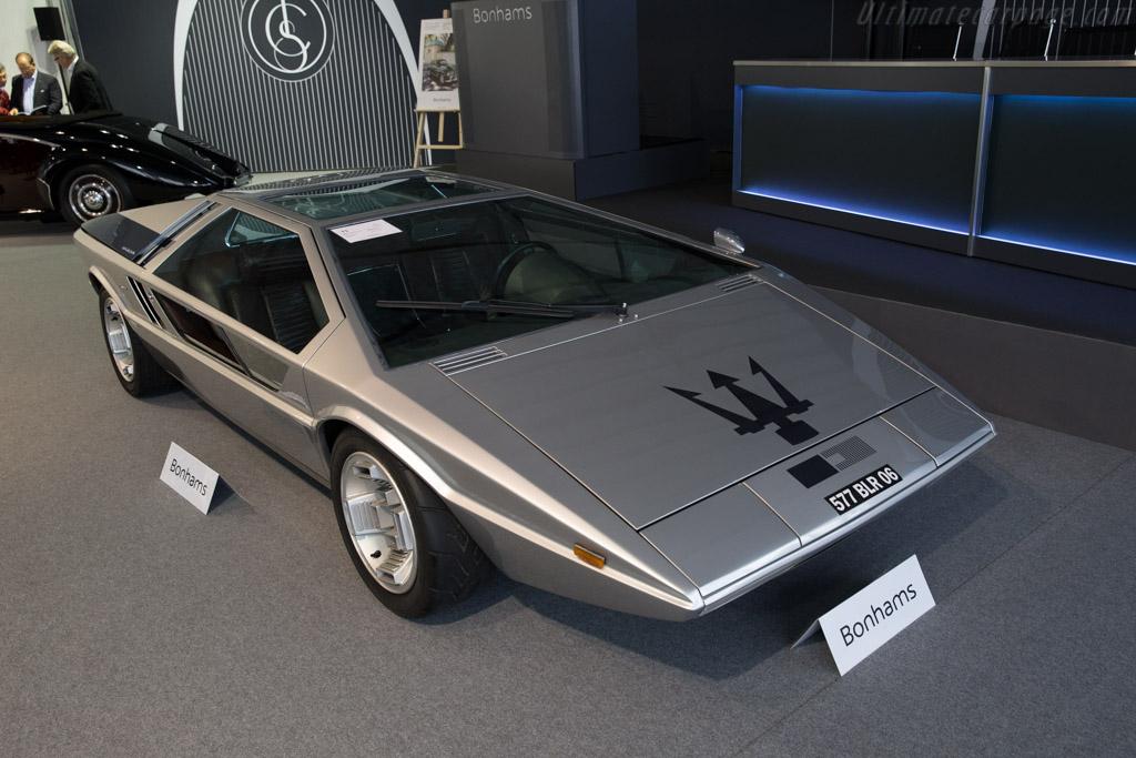 Maserati Boomerang - Chassis: 081   - 2015 Chantilly Arts & Elegance