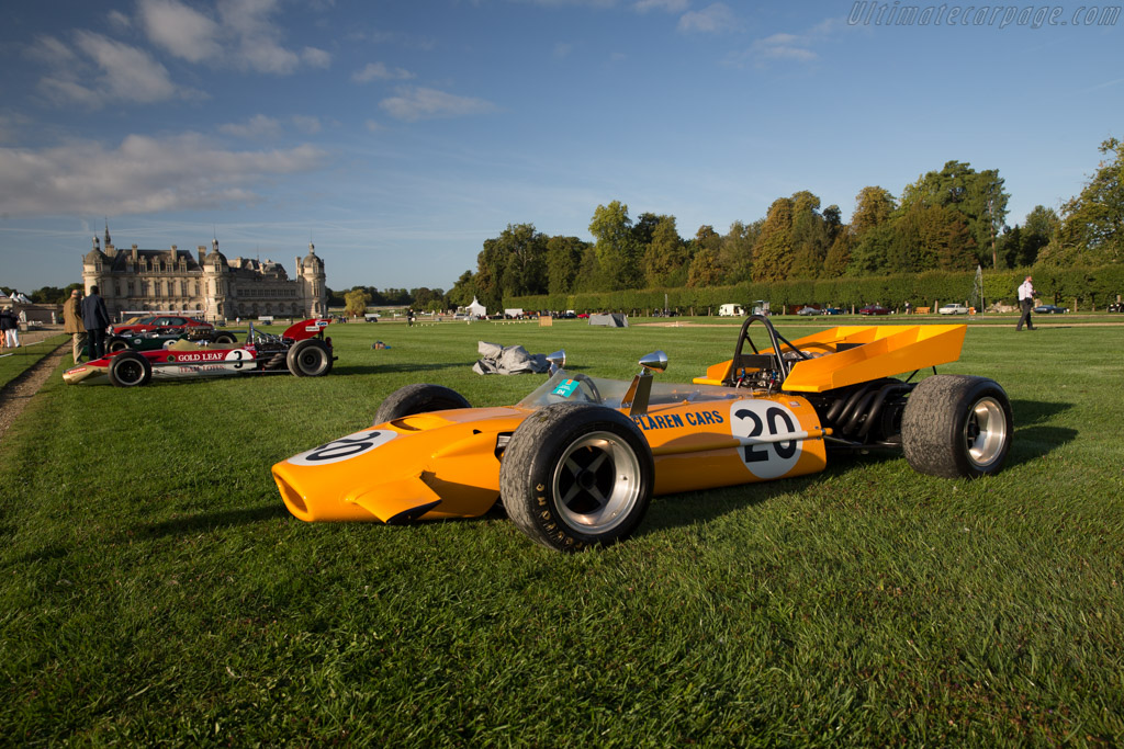 McLaren M9A Cosworth - Chassis: M9A-1 - Entrant: Private Collection  - 2015 Chantilly Arts & Elegance