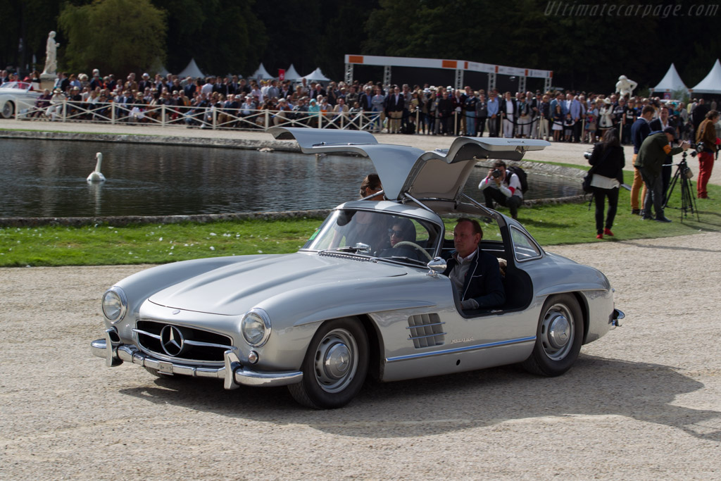 Mercedes Benz 300 Sl Chassis 198 040 4500008 Entrant