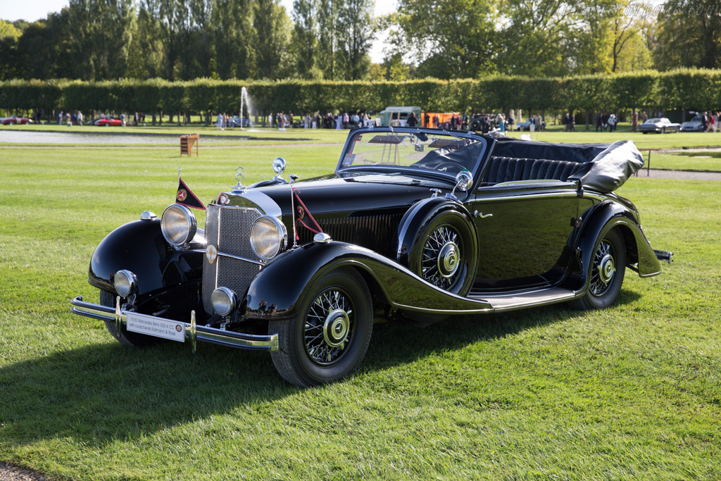 Mercedes benz 500 k erdmann rossi cabriolet entrant for Mercedes benz chantilly