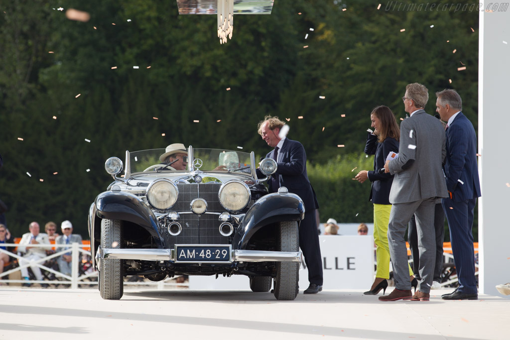 Mercedes-Benz 500 K Spezial Roadster - Chassis: 123700 - Entrant: Evert Louwman  - 2015 Chantilly Arts & Elegance
