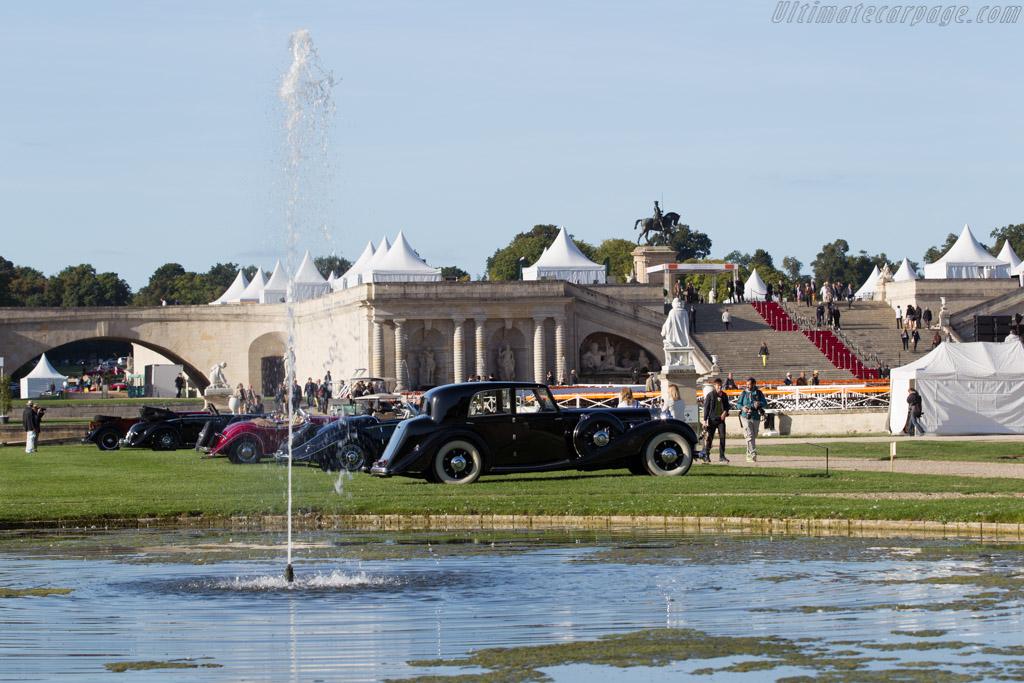 Mercedes-Benz 540 K Freestone & Webb Saloon  - Entrant: Hans Kleissl  - 2015 Chantilly Arts & Elegance