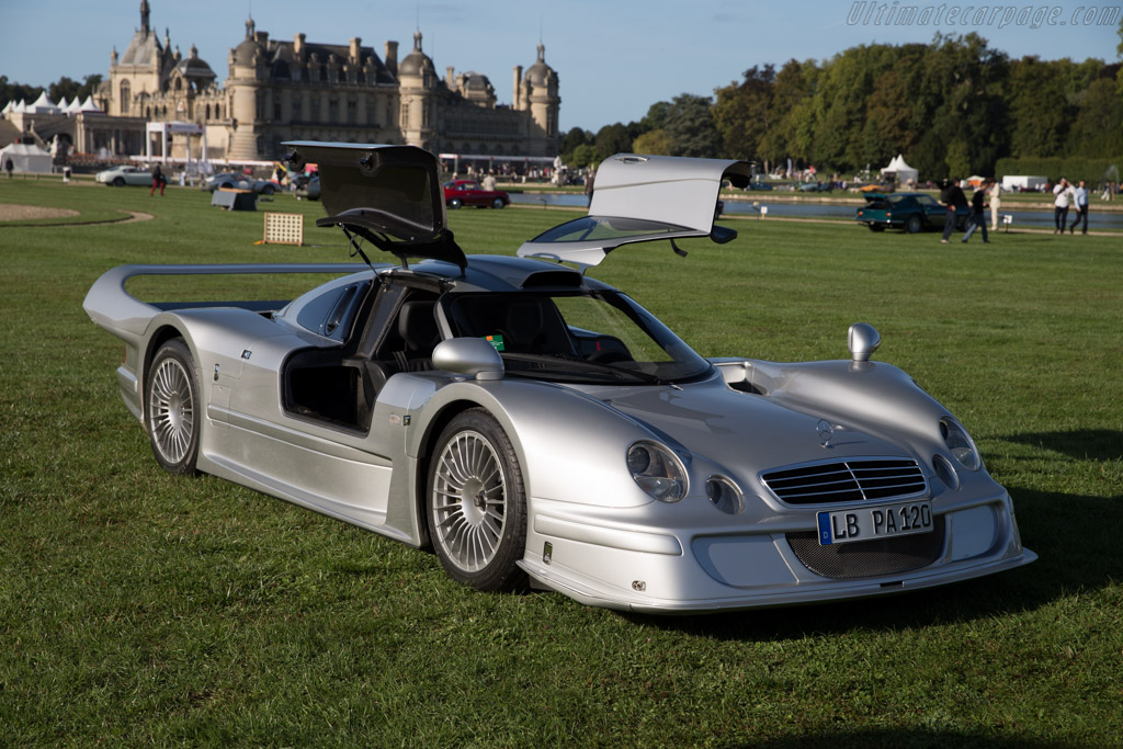 Mercedes benz clk lm strassenversion chassis 002 for Mercedes benz chantilly