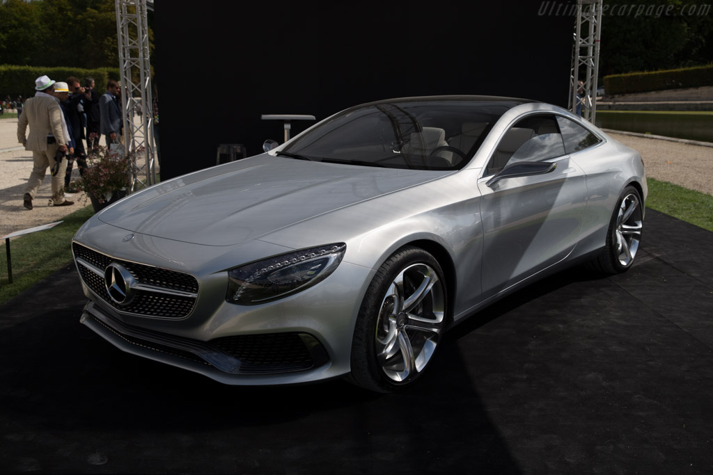 Mercedes-Benz S-Class Coupé Concept    - 2015 Chantilly Arts & Elegance