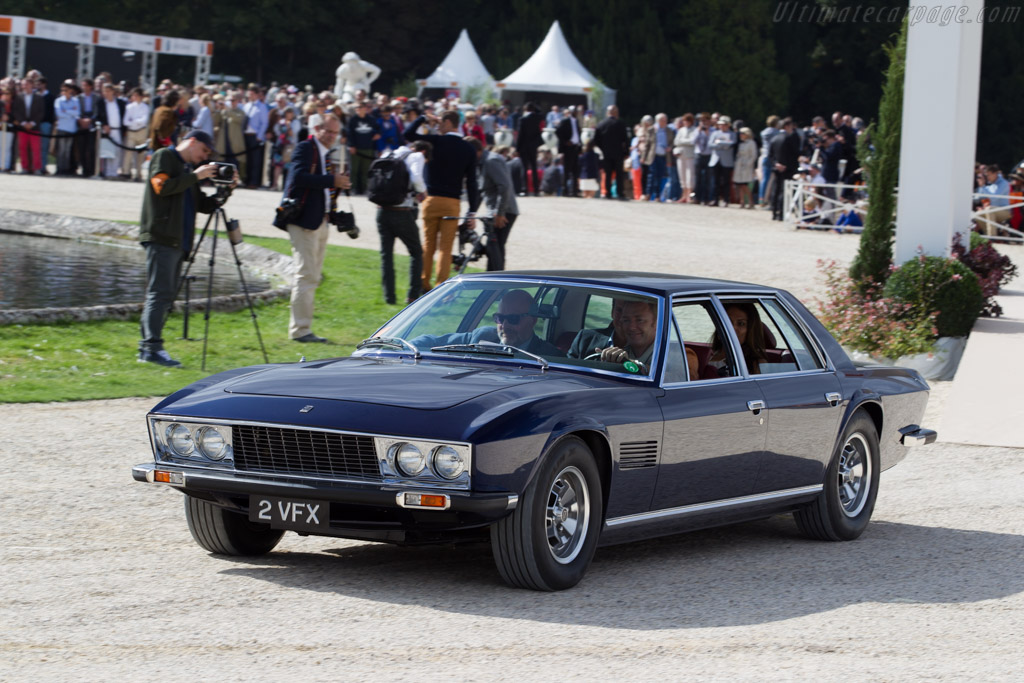 Monteverdi 375/4 - Chassis: 3118 - Entrant: Simon Kidston  - 2015 Chantilly Arts & Elegance