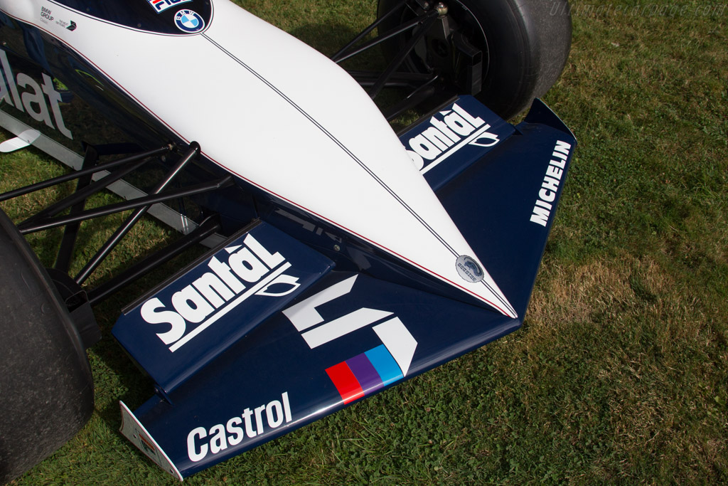 Brabham BT52 BMW - Chassis: BT52-1 - Entrant: BMW Group Classic  - 2016 Chantilly Arts & Elegance