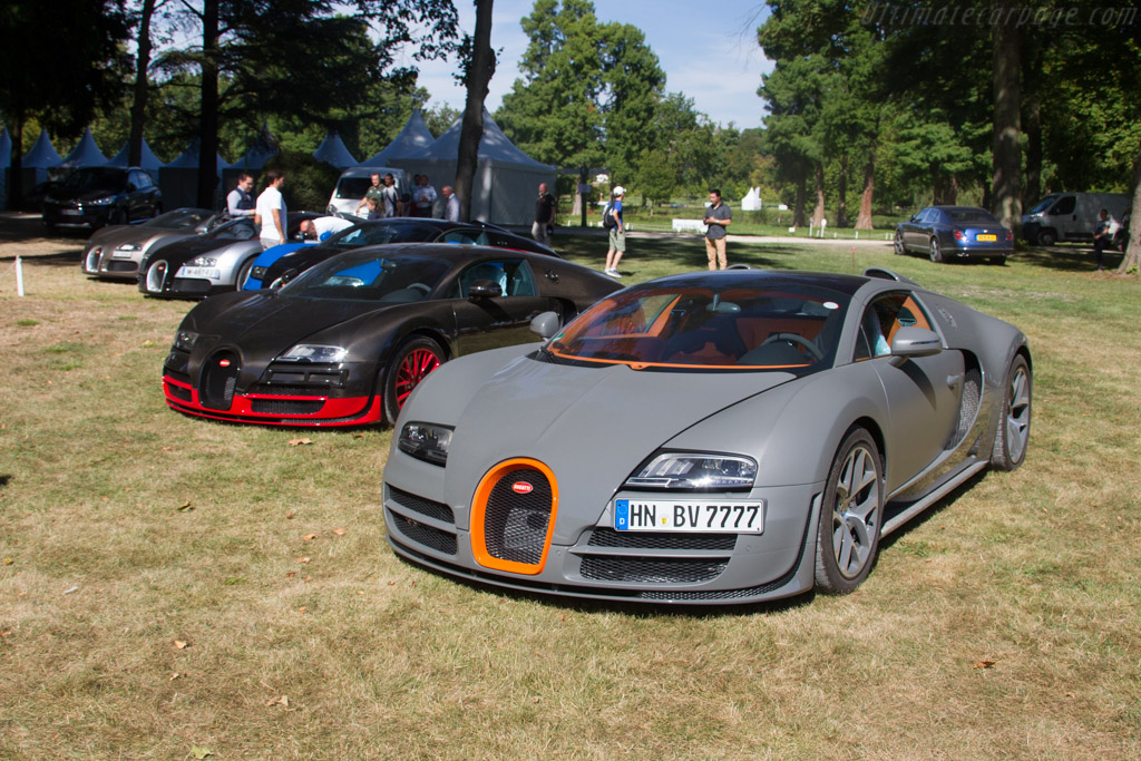 Bugatti Veyrons    - 2016 Chantilly Arts & Elegance
