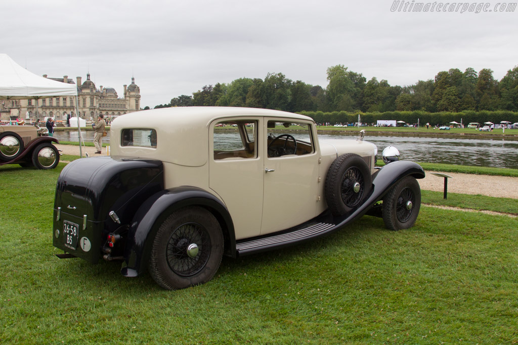 Hispano Suiza HS6 Vanvooren Pillarless Saloon    - 2016 Chantilly Arts & Elegance