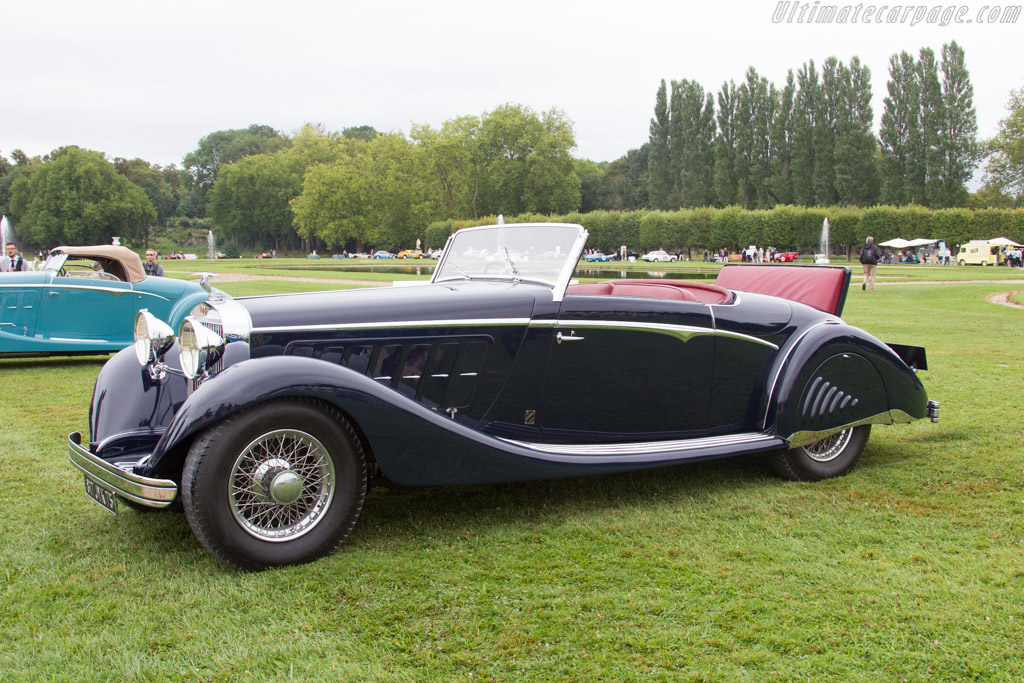 Hispano Suiza K6 Saoutchik Cabriolet    - 2016 Chantilly Arts & Elegance
