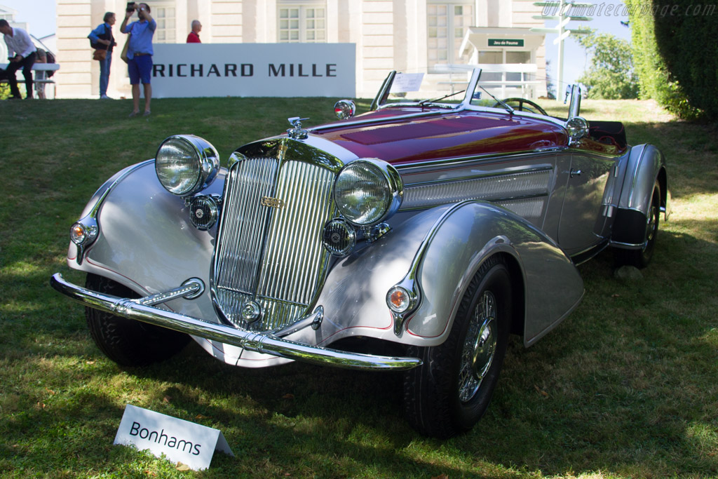 Horch 853 Spezial Roadster C - Chassis: 853177  - 2016 Chantilly Arts & Elegance