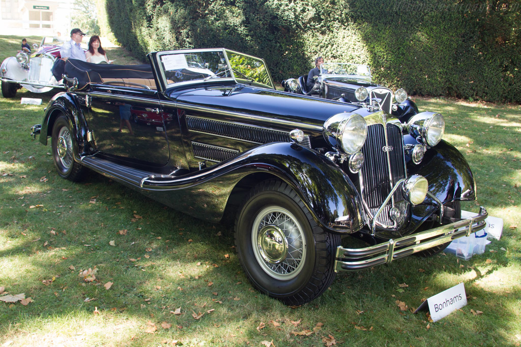 Horch 853A Sport Cabriolet - Chassis: 854126   - 2016 Chantilly Arts & Elegance