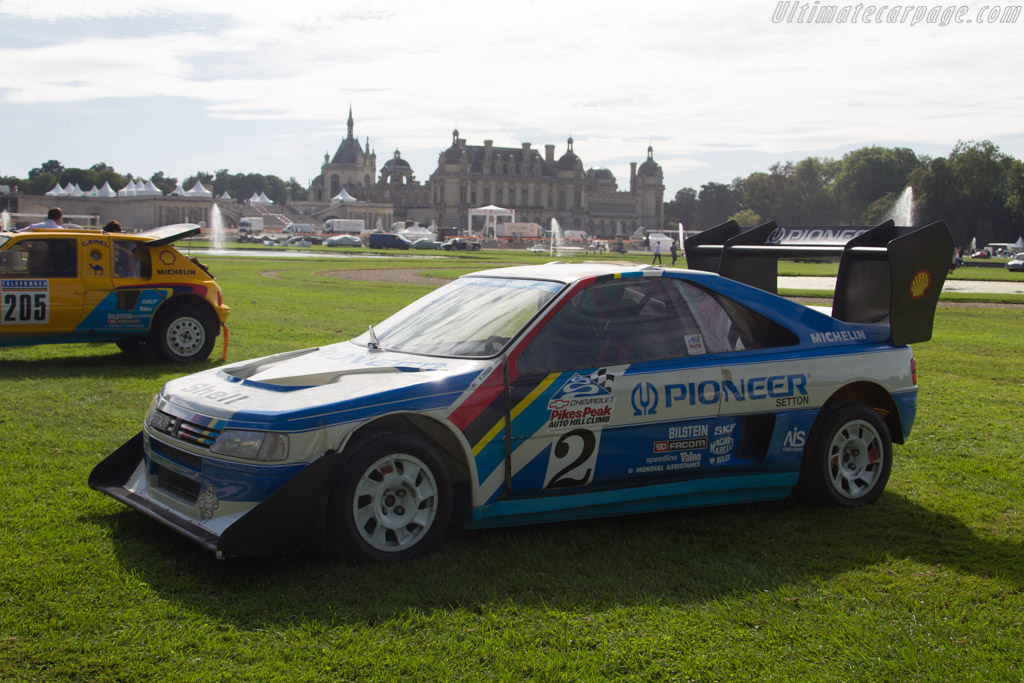 peugeot 405 turbo 16 pikes peak 2016 chantilly arts elegance. Black Bedroom Furniture Sets. Home Design Ideas