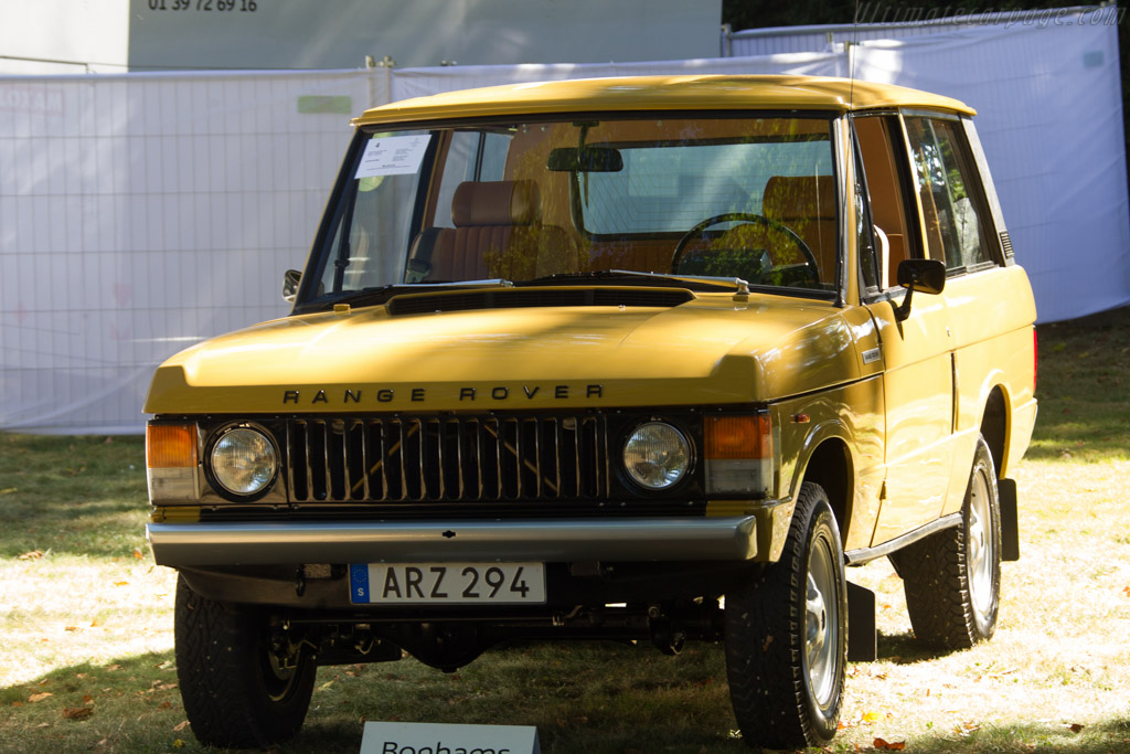 Range Rover - Chassis: 35816833D   - 2016 Chantilly Arts & Elegance