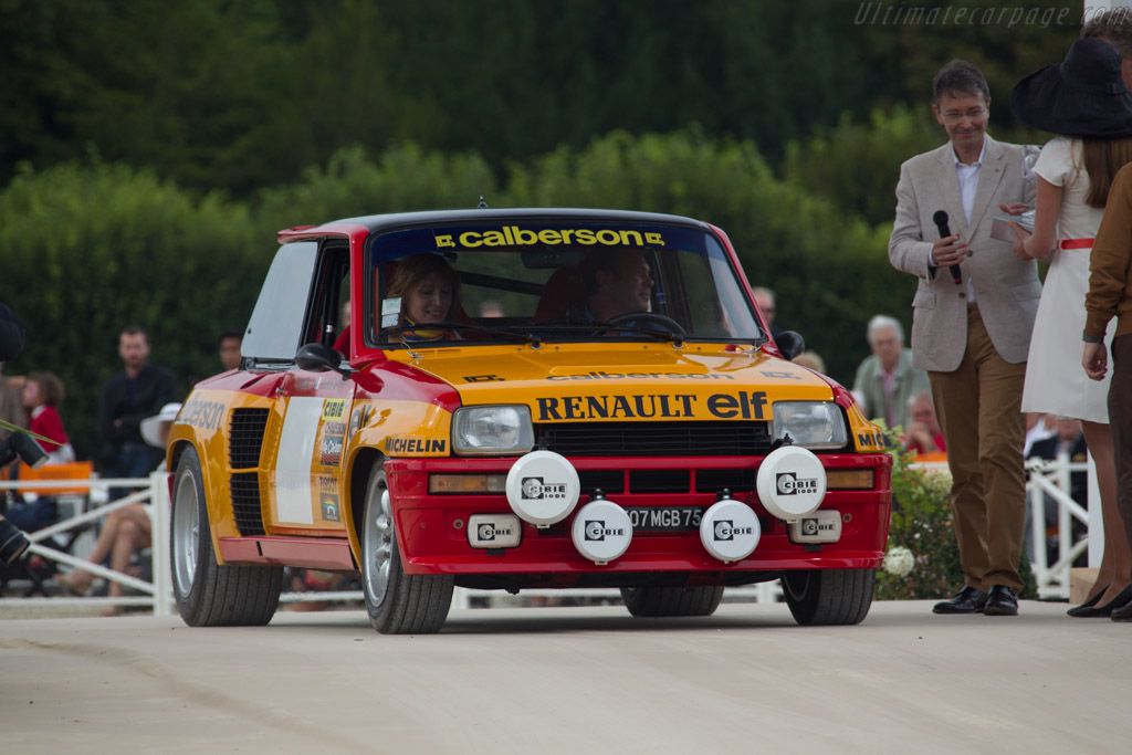 Renault 5 Group IV - Chassis: VF1822000B0000036   - 2016 Chantilly Arts & Elegance