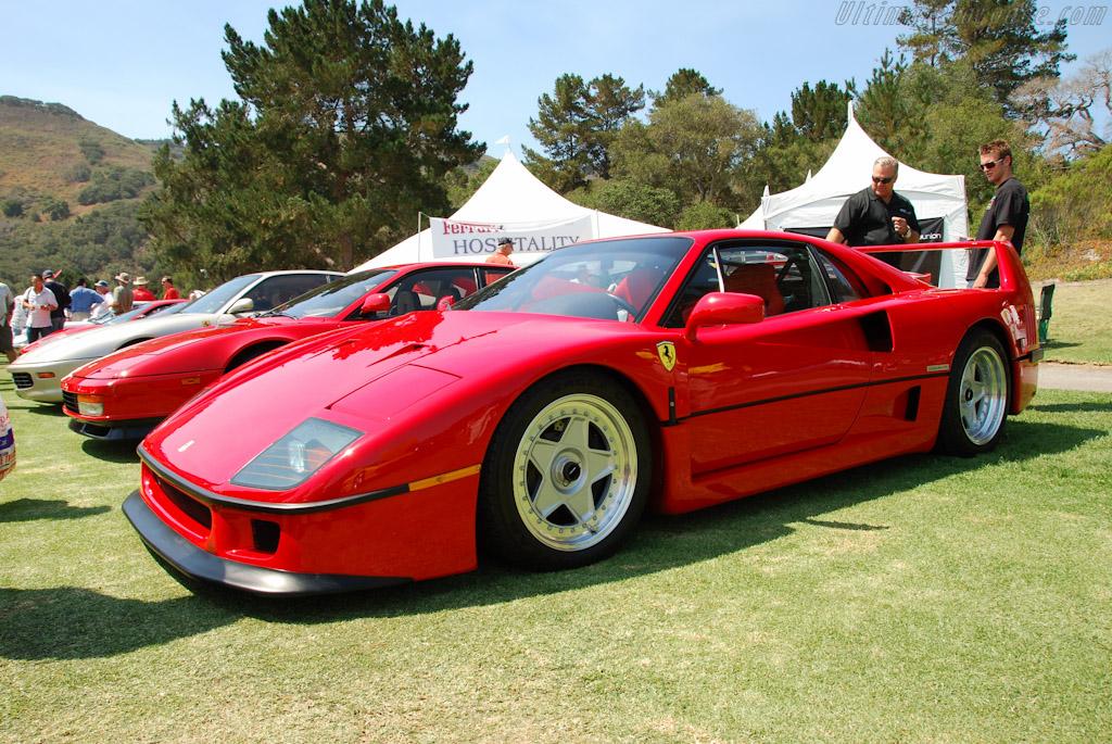 Ferrari F40    - 2009 Concorso Italiano