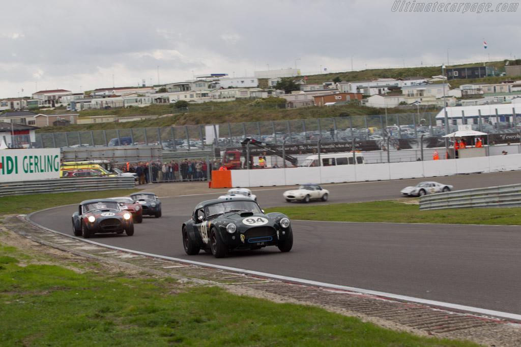 AC Shelby Cobra  - Driver: Michael Gans / Andy Wolfe  - 2014 Historic Grand Prix Zandvoort
