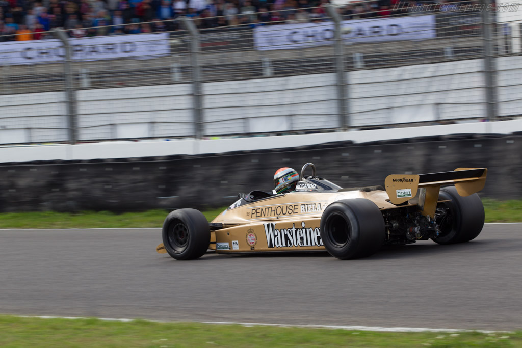 Arrows A3 Cosworth - Chassis: A3-3 - Driver: Mark Devis  - 2014 Historic Grand Prix Zandvoort