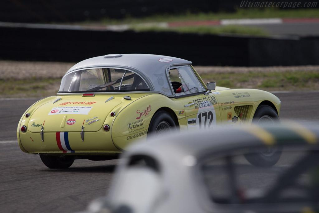 Austin Healey 3000 Mk1  - Driver: Cor Visser  - 2014 Historic Grand Prix Zandvoort