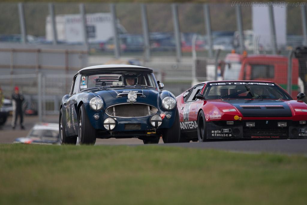 Austin Healey 3000 Mk2  - Driver: Bas Jansen  - 2014 Historic Grand Prix Zandvoort