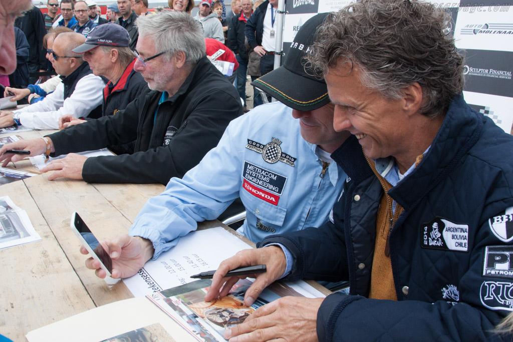 Autograph Session    - 2014 Historic Grand Prix Zandvoort