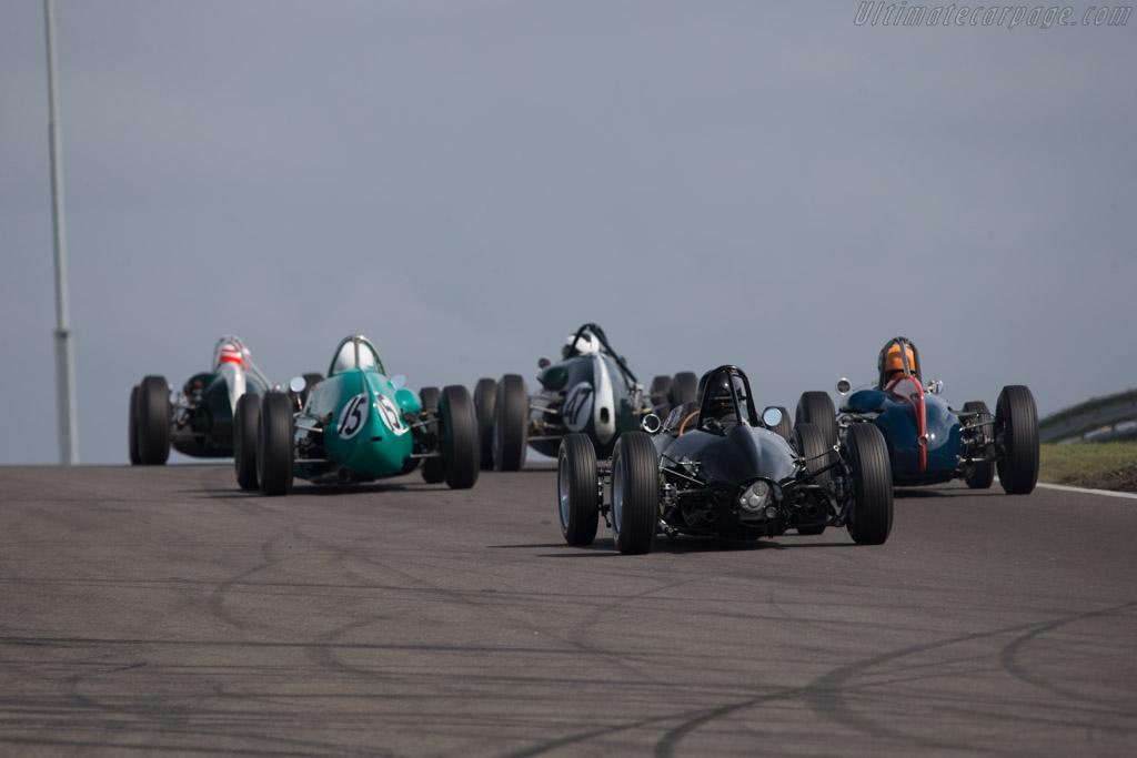 BRM P57 V8 - Chassis: 572 - Driver: Charles McCabe  - 2014 Historic Grand Prix Zandvoort