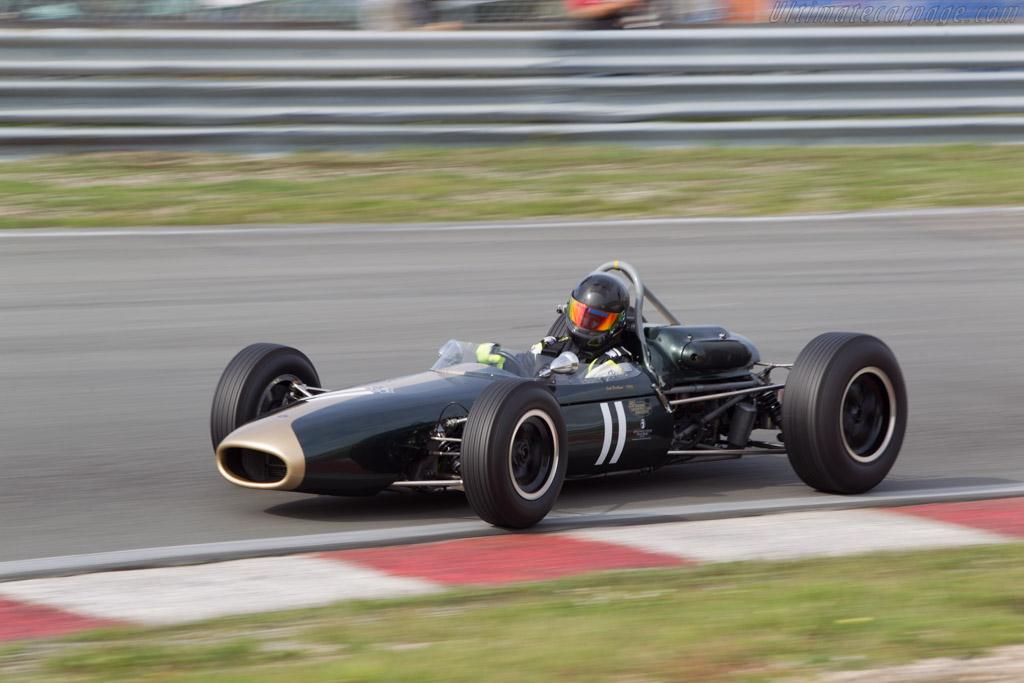 Brabham BT11 Climax  - Driver: John Fairley  - 2014 Historic Grand Prix Zandvoort
