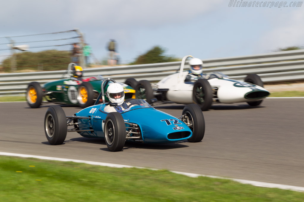 Brabham BT2  - Driver: John Dowson  - 2014 Historic Grand Prix Zandvoort