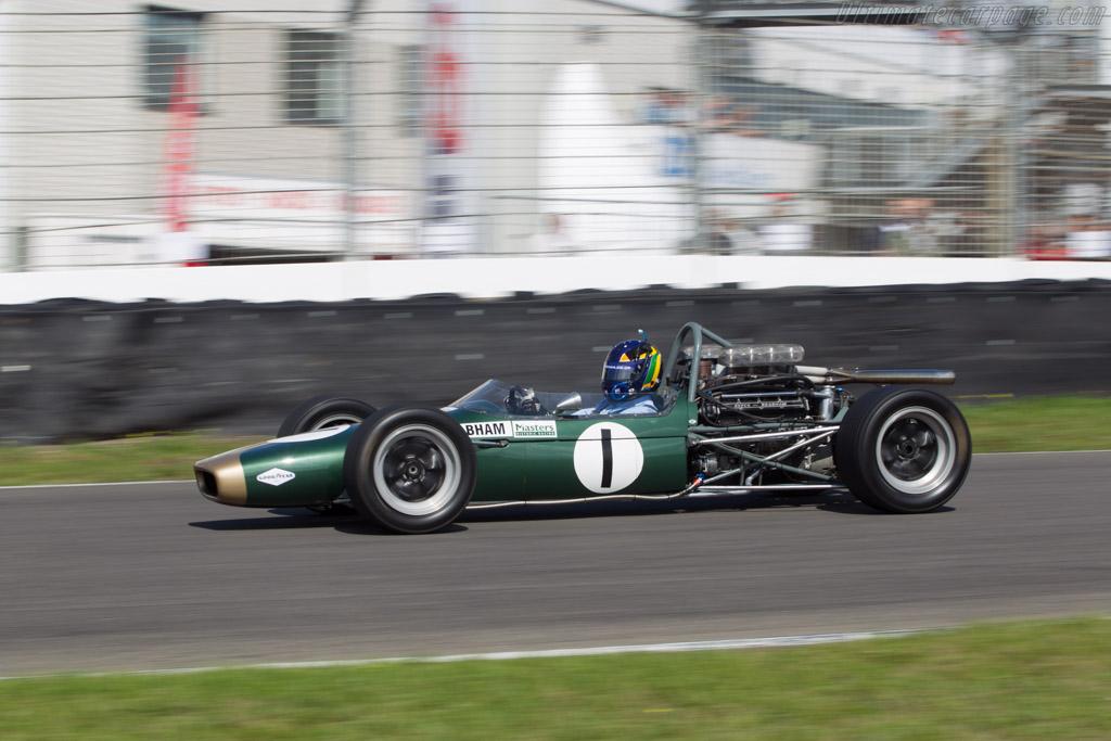 Brabham BT24 Replica - Chassis: BT24-3-R - Driver: David Brabham  - 2014 Historic Grand Prix Zandvoort