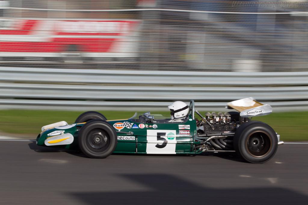 Brabham BT26 Cosworth - Chassis: BT26-2 - Driver: Patrick van Heurck  - 2014 Historic Grand Prix Zandvoort