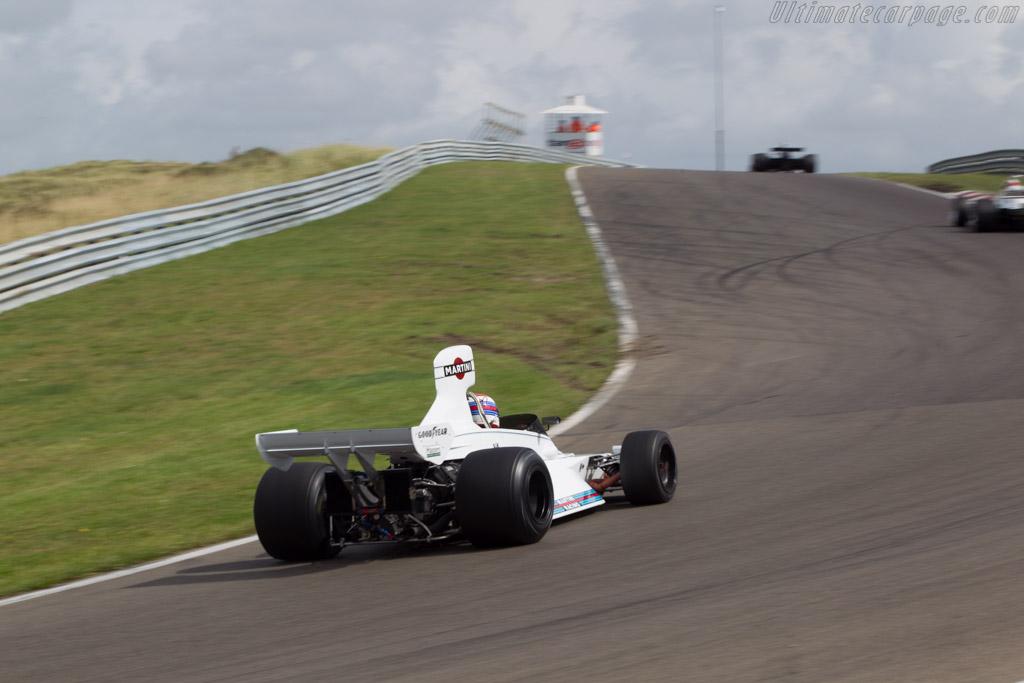 Brabham BT42 Cosworth - Chassis: BT42-3 - Driver: Manfredo Rossi di Montelera  - 2014 Historic Grand Prix Zandvoort