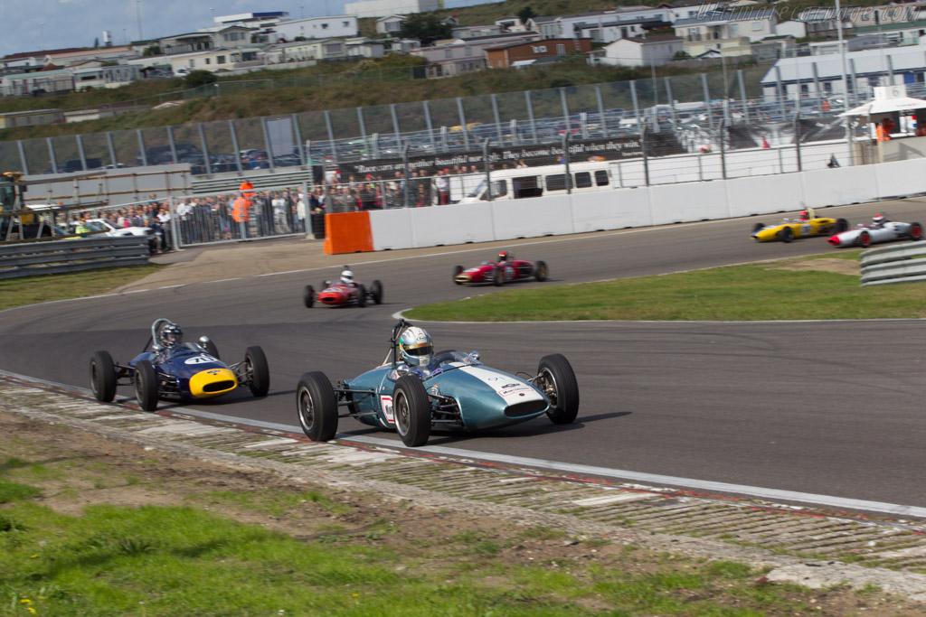 Brabham BT6  - Driver: Jonathon Hughes  - 2014 Historic Grand Prix Zandvoort