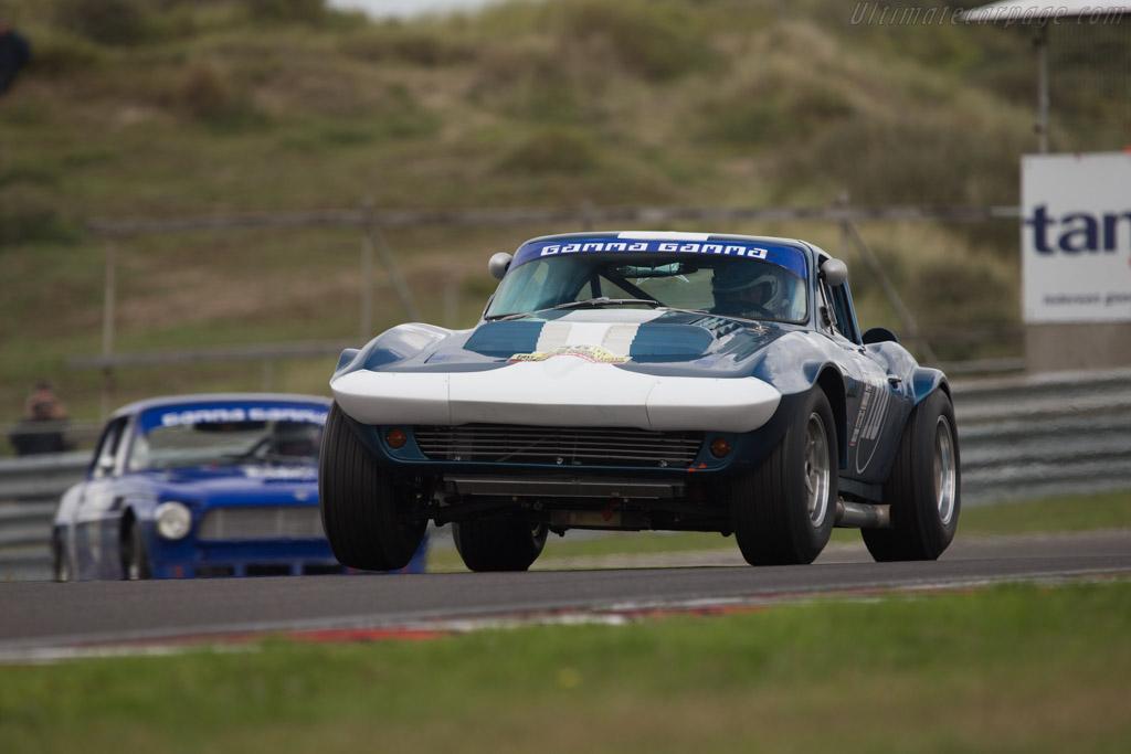 Chevrolet Corvette  - Driver: Michiel Campagne  - 2014 Historic Grand Prix Zandvoort