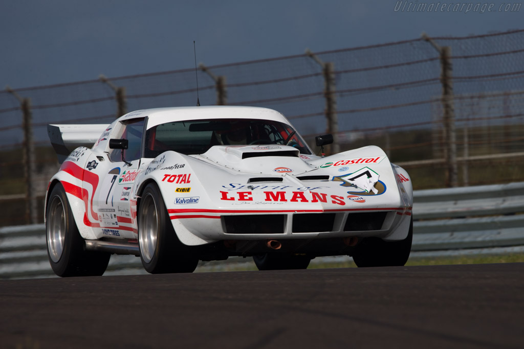 Chevrolet Corvette Group 4  - Driver: Wolfgang Schachinger  - 2014 Historic Grand Prix Zandvoort