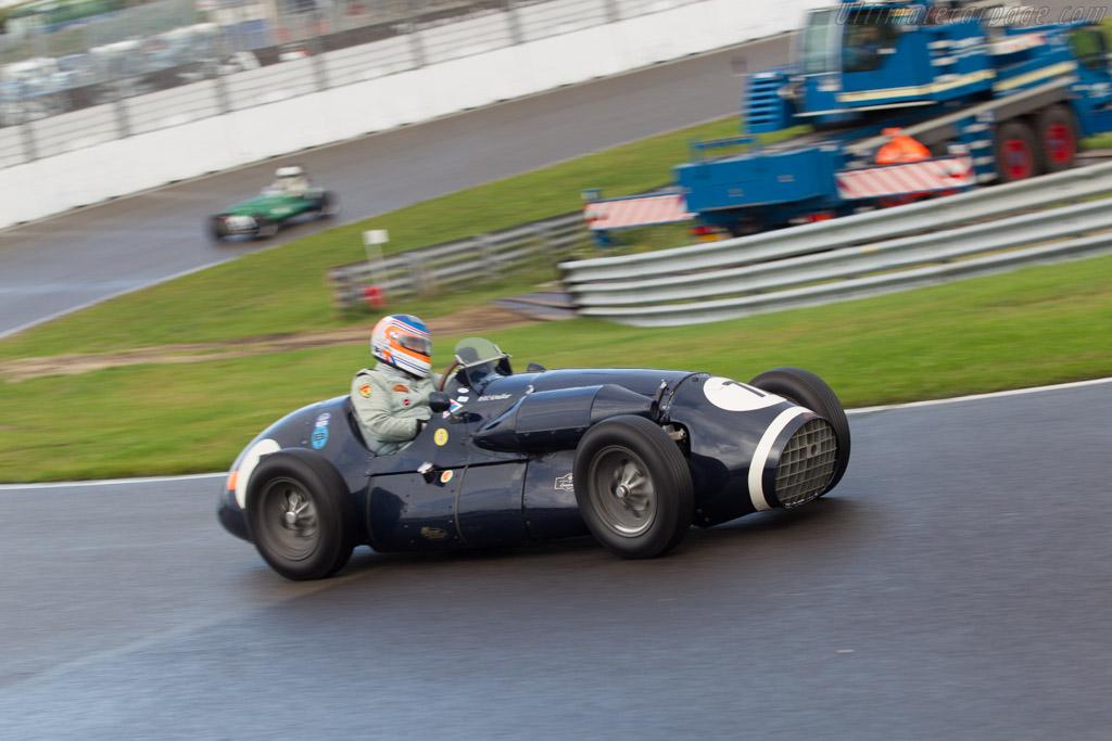 Connaught A-Series - Chassis: A3 - Driver: Adrien van der Kroft  - 2014 Historic Grand Prix Zandvoort