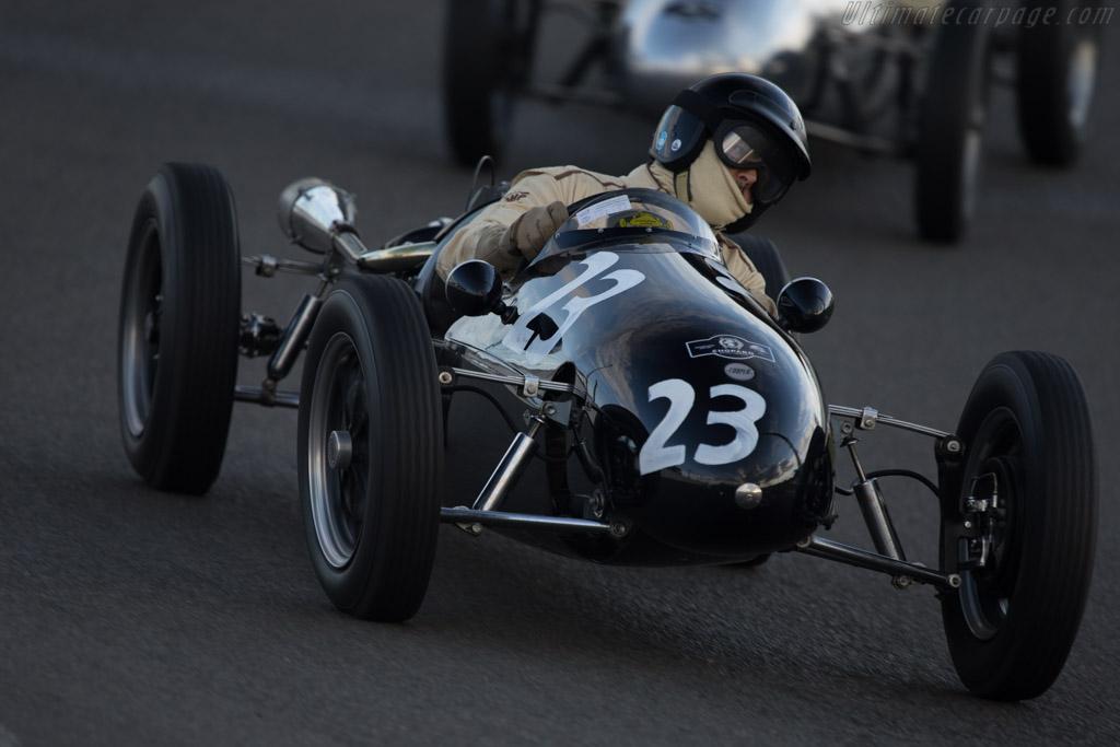 Cooper MK11  - Driver: George Shackleton  - 2014 Historic Grand Prix Zandvoort